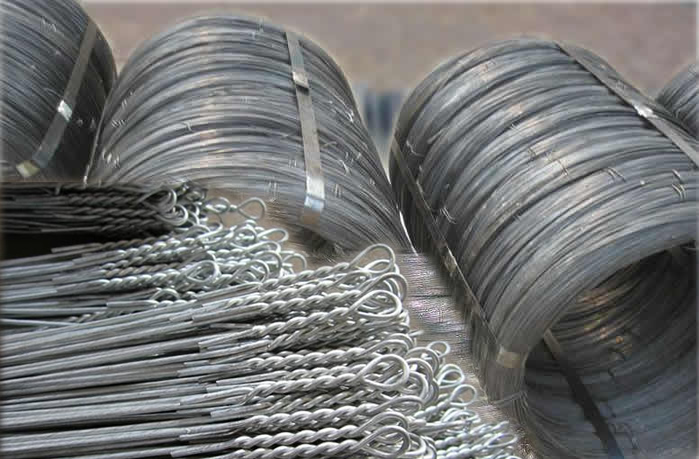 Automatic Bale Binding Wire Coils