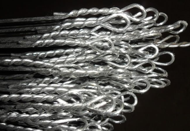 Bale Wire Ties : Cotton bale tie wire pre cut and coiled for baling uses