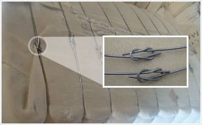 Baling Wire Twister Tool : Single loop bale tie galvanized annealed cotton baling wire