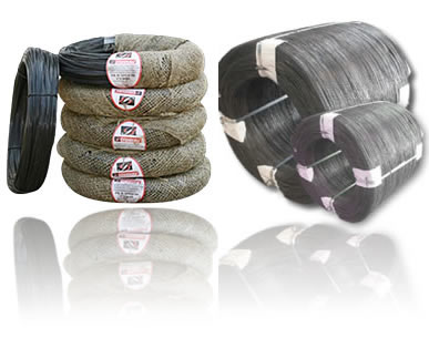 100lb Large Coils Annealed Wire Slightly Oiled and Tied with Wire