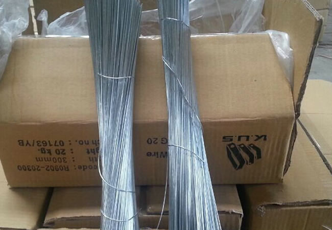 Straight Cut To Length And Looped Baling Tie Wire